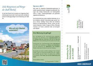 Integriertes Stadtentwicklungskonzept Bürgerbeteiligung